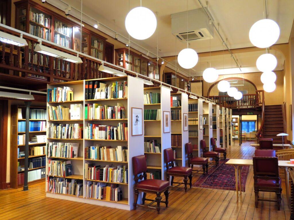 Biblioteket på Göteborgs stadsmuseum