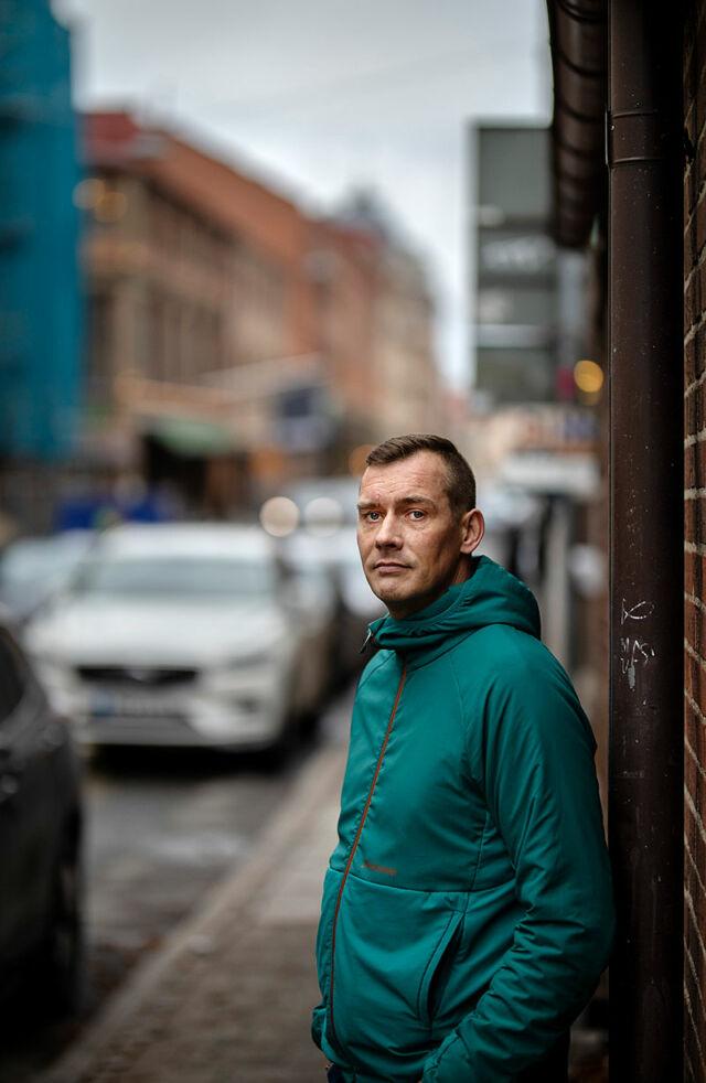 Dennis - en av alla människor i Göteborg.